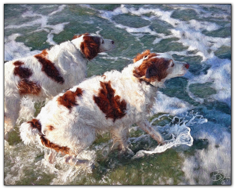 gundogs painting