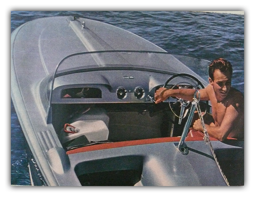 1960s Speedboat Photo