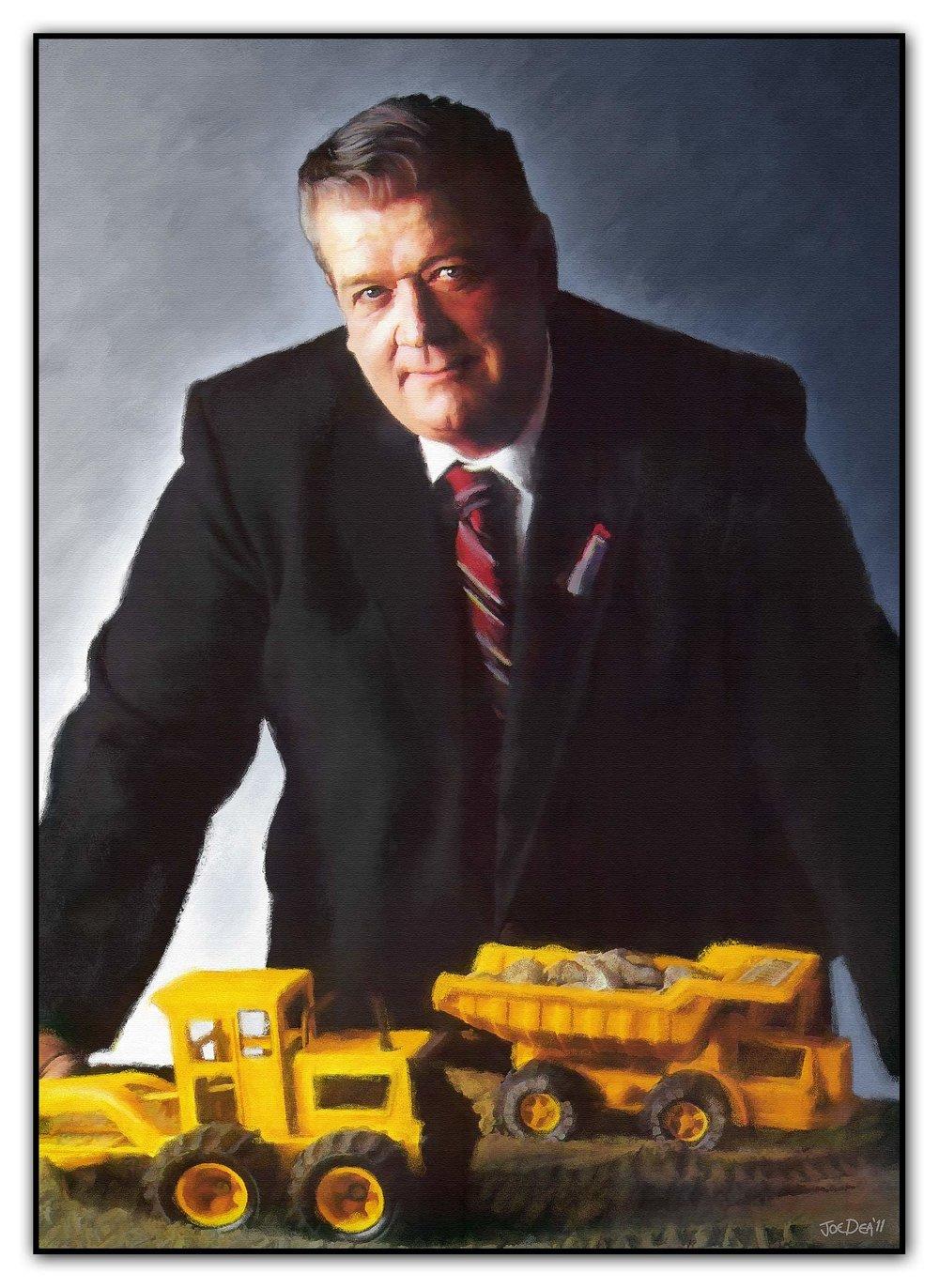 Executive CEO Portrait Painting