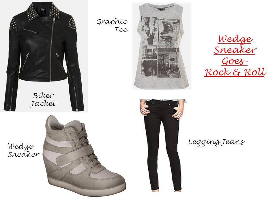Wedge sneakers 1