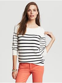 Nautical Stripe Pullover- Banana Republic