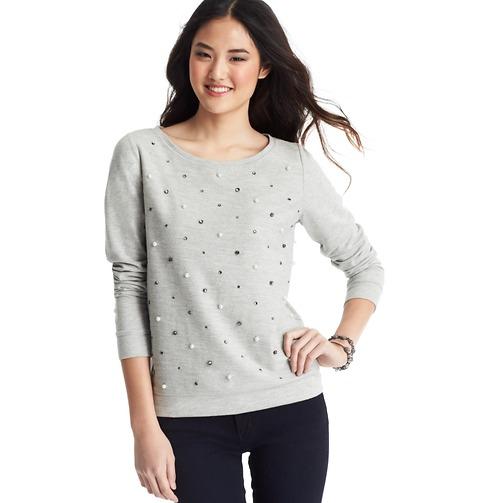 LOFT pearlized sweatshirt.jpg- 344pm