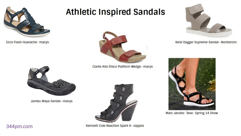 Athletic Inspired Sandals- 344pm