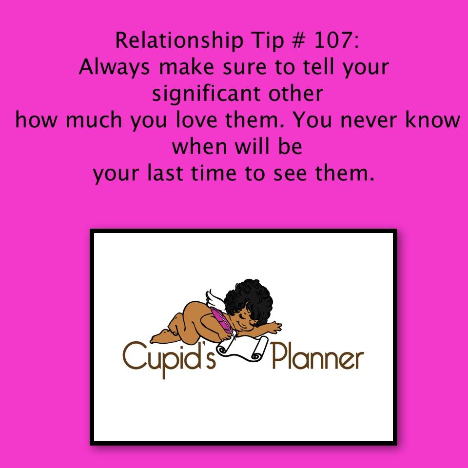 Relationship Tip # 107