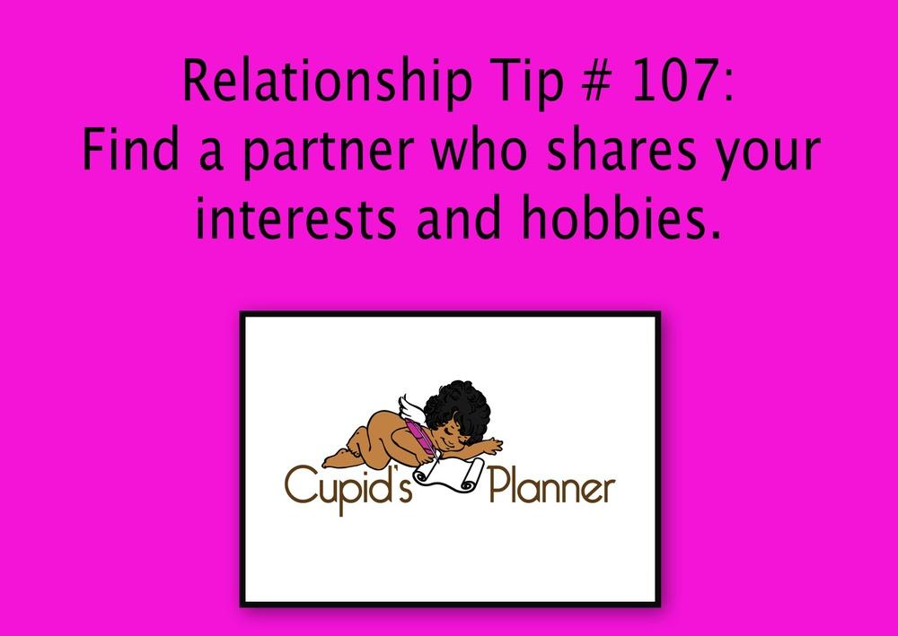 Relationship Tip #107