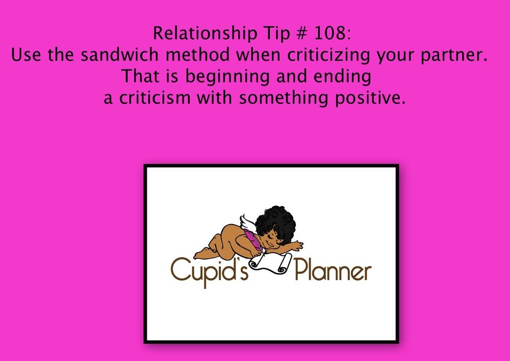 Relationship Tip 108