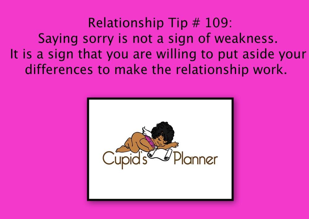 Relationship Tip # 109
