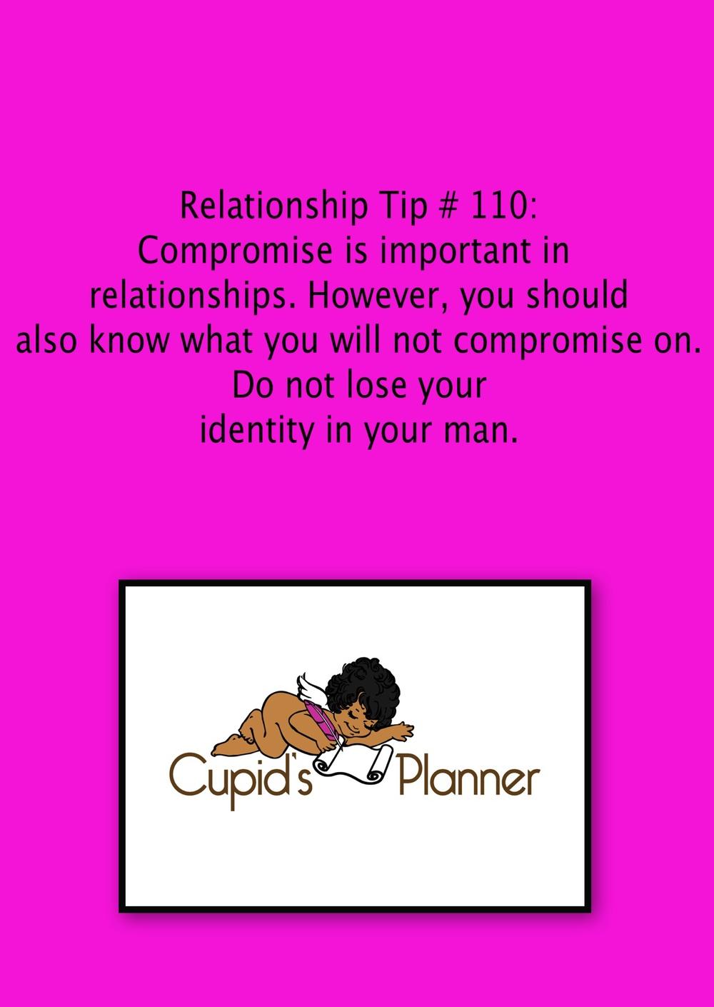 Relationship Tip # 110