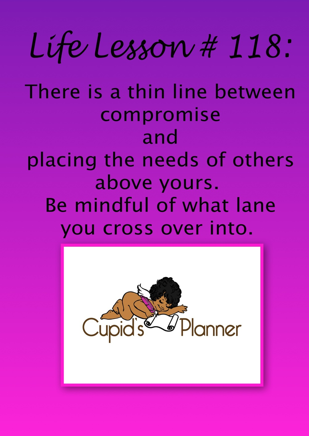 Life Lesson on Compromise