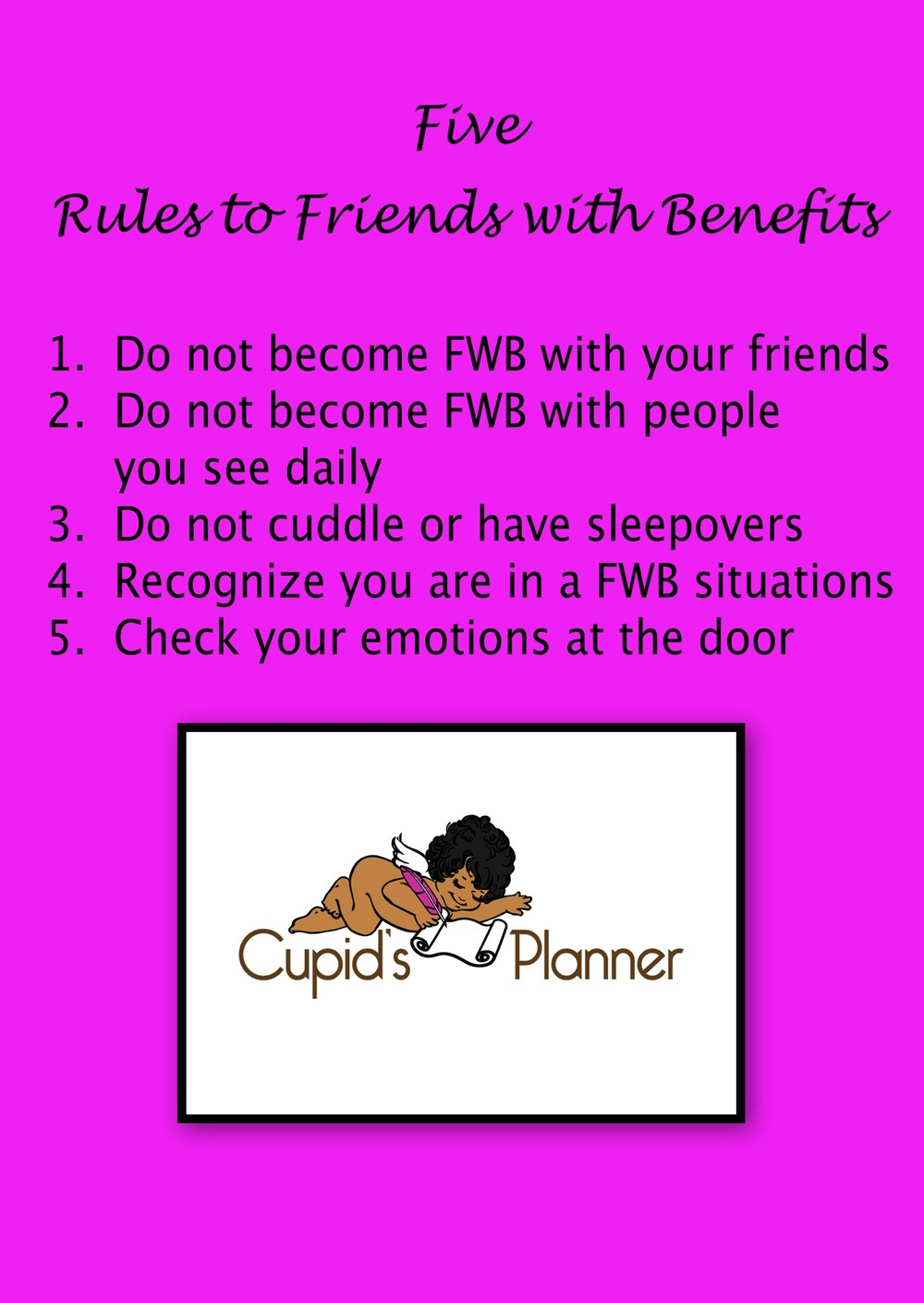 5 Rules of Friends with Benefits