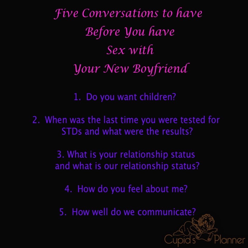 Pre Sex Conversations