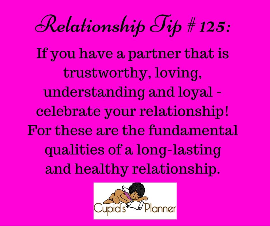Relationship Tip