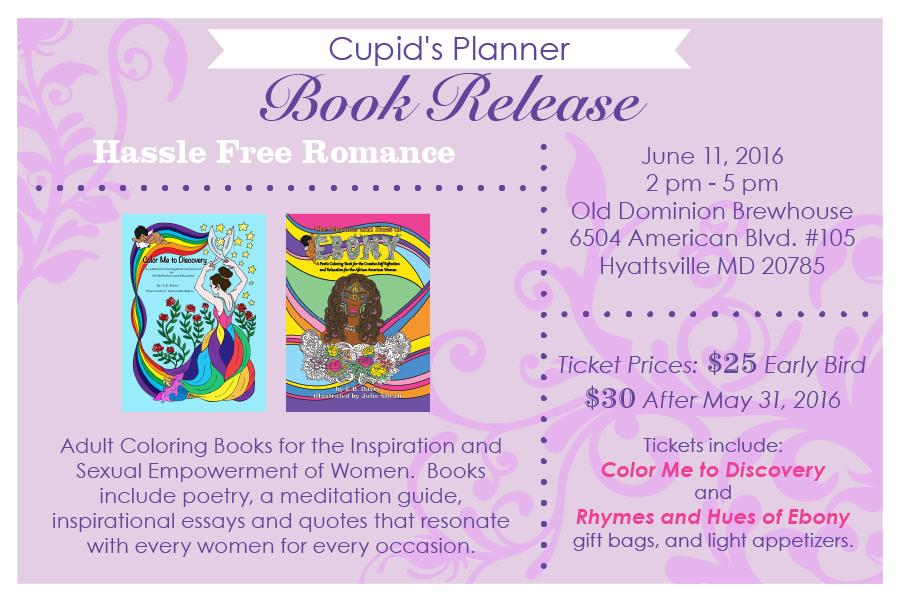 Cupid's Planner Book Release