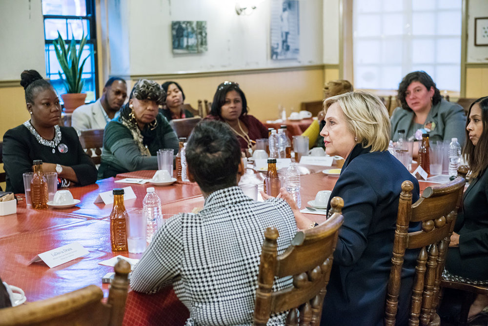 This picture is courtesy of hillary clinton.com