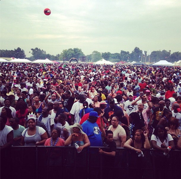 Chosen Few Picnic Main Stage View :: Chicago :: 2013
