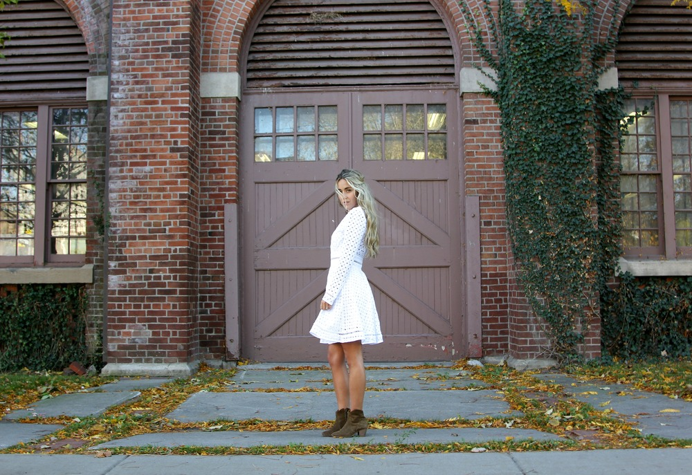 Zimmermann Dress, Isabel Marant Boots, Birks Jewels