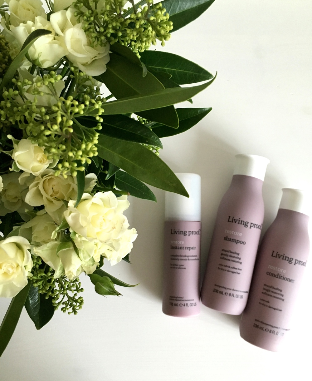 Living Proof Restore Shampoo, Conditioner & Instant Repair