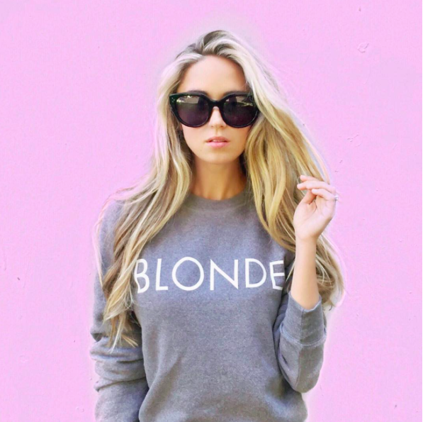 Blonde AFLAxBITNB Mug (Brunette Version Here) & Sweatshirt (Brunette Version Here)