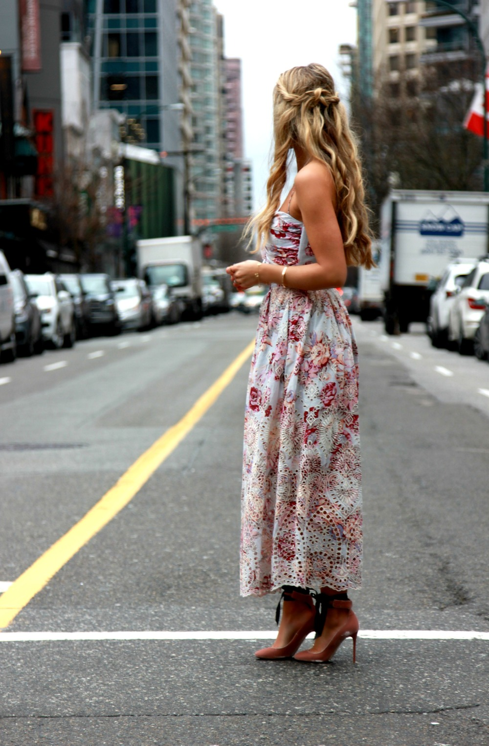 Zimmermann Dress, Jimmy Choo Heels, Tiffany & Co Jewels