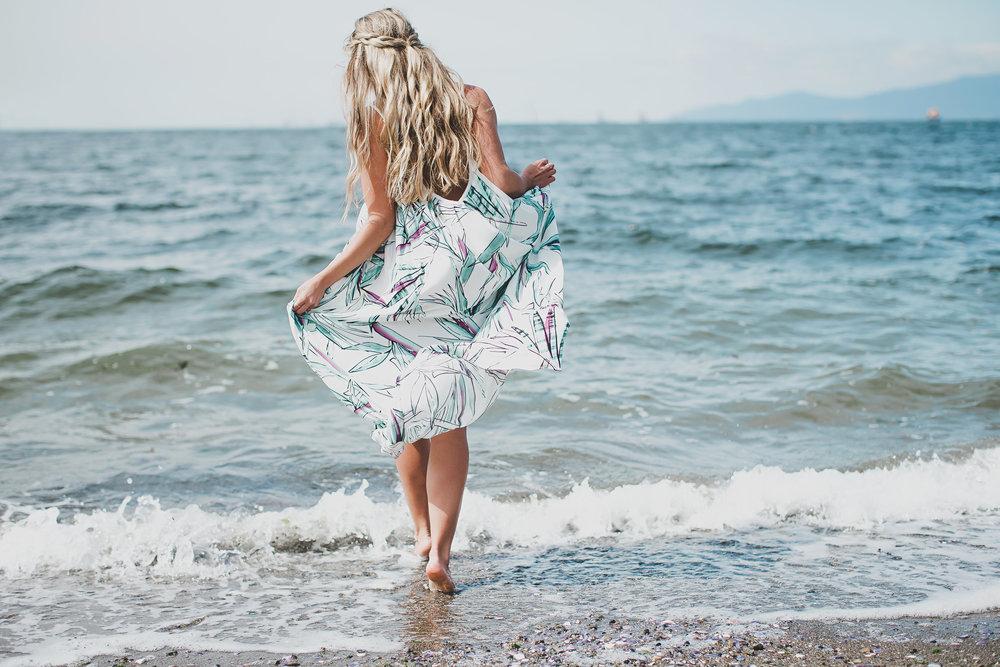 Reitmans x Meghan Markle Collection Sunset Dress Photos by Jamie Lauren Photography