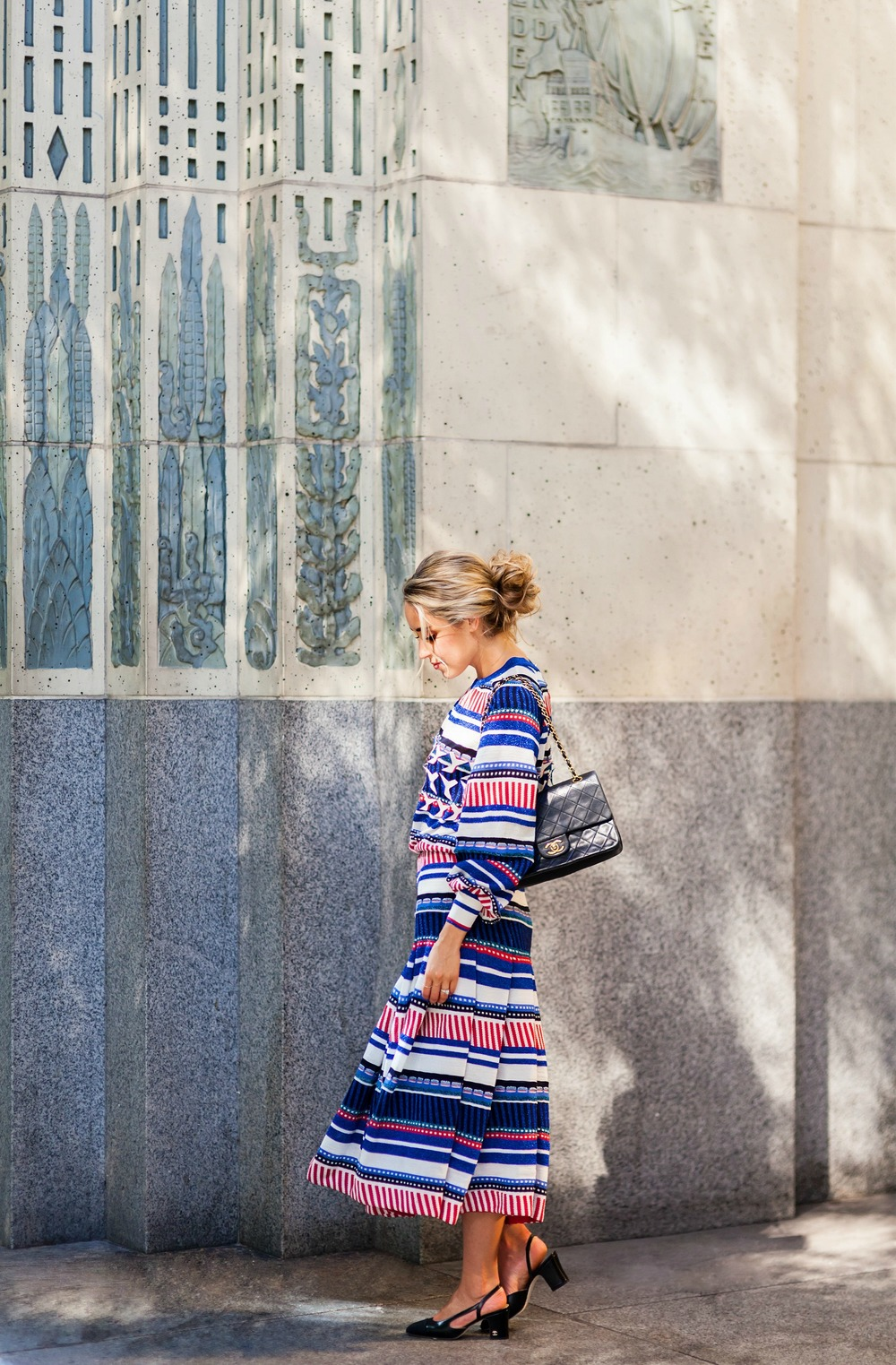 Photography by Allison Kuhl Chanel Dress, Bag & Shoes