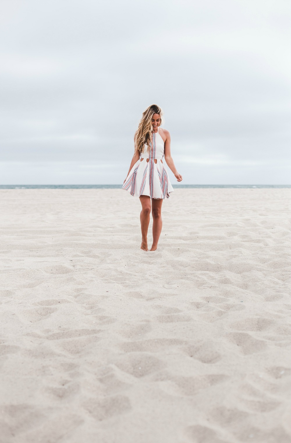 Photography by  Trent Haaland   Tularosa  Dress via  Revolve , Céline Sandals