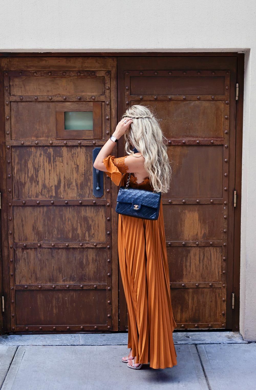 Photography Allison Kuhl Chanel Boy.Friend Watch, Coco Crush Rings & Handbag Self-Portrait Dress, Stuart Weitzman Heels