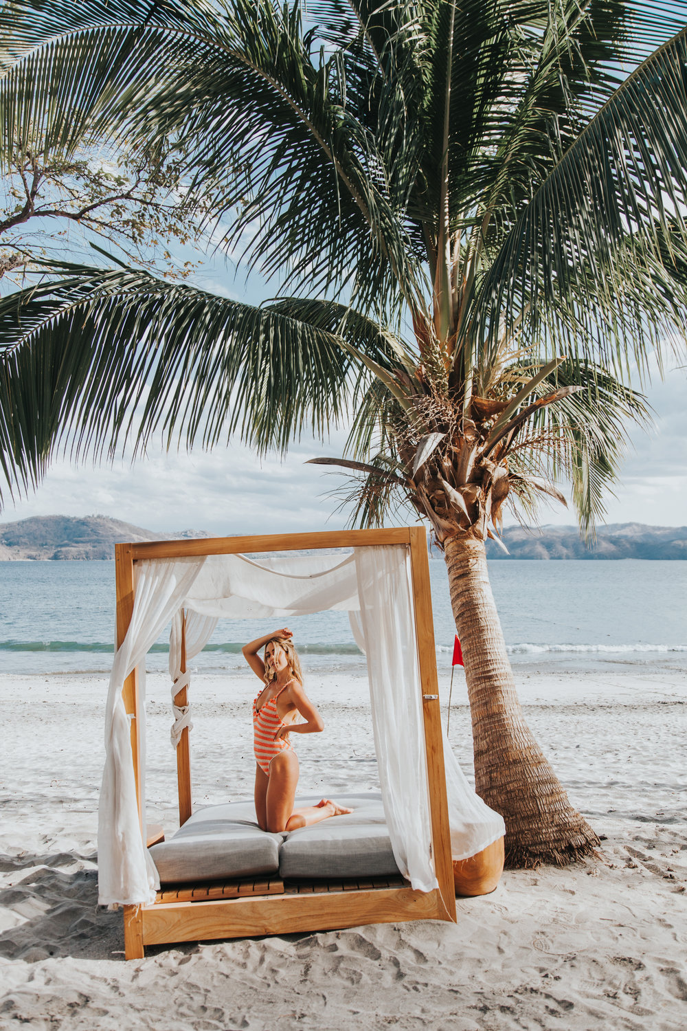 Photos by  Paige Owen  Faithfull Dress |  Tularosa  Swimsuit Via  Revolve  |  CJxMA  Melanie Auld Island Earrings,  Modern Hoop  Earrings, Babe Ring,  Signet  Ring|  Lovers & Friends  Dress via  Revolve  | Glassons Top + POSSE Skirt| Sabo Skirt Dress & Earrings