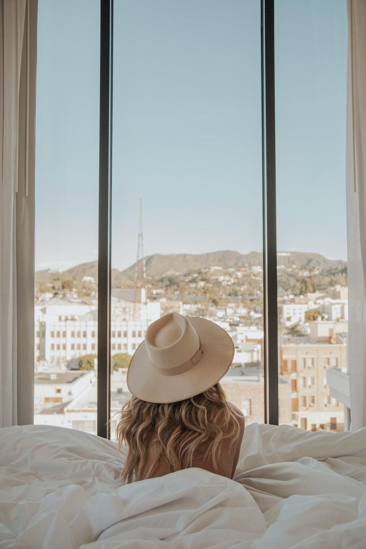 Photos by Paige Owen Gooseberry Intimates Lingerie, Lack of Color Hat, DRA Faux Jacket