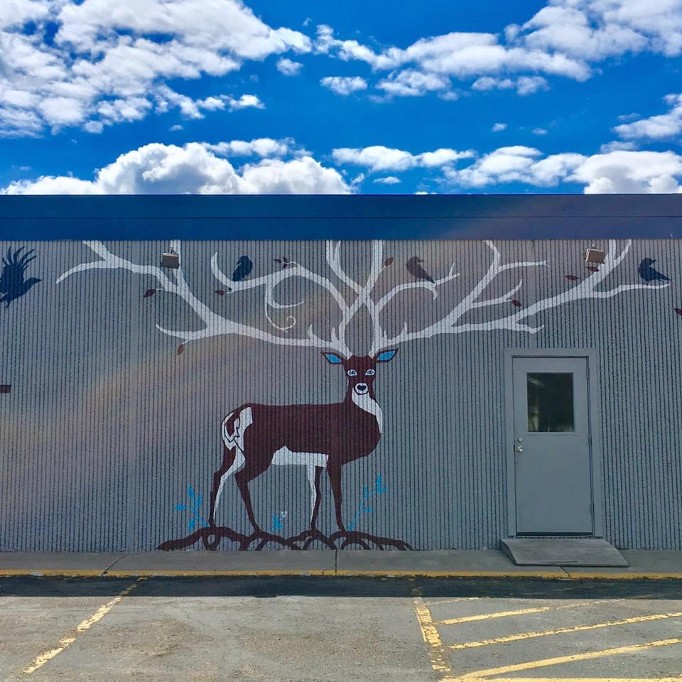 mural in Detroit Lakes, MN