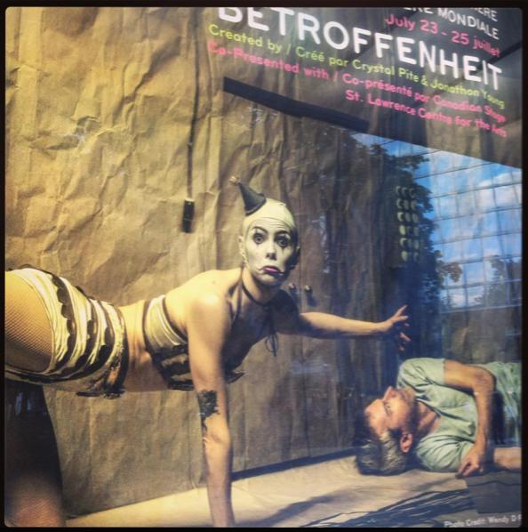 Betrofenheit poster, TO, 2015.