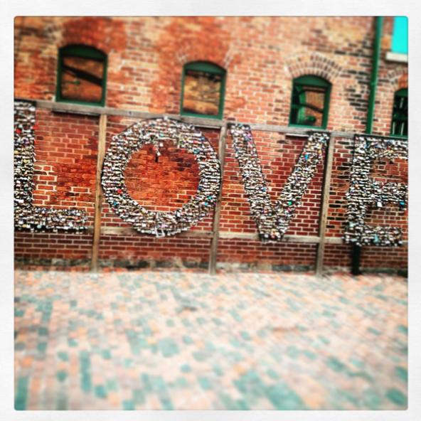 Love in Toronto, 2015.