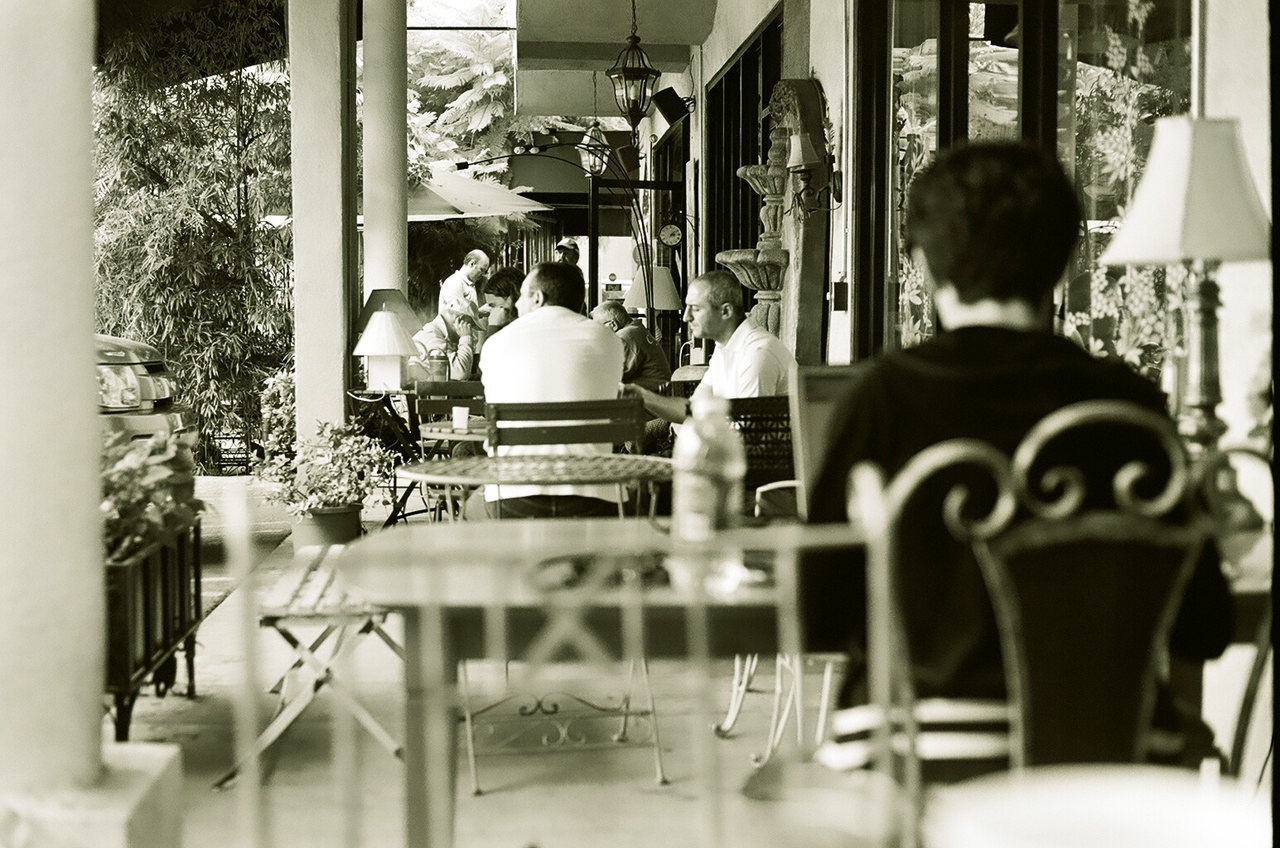Sometimes coffee feels like Paris