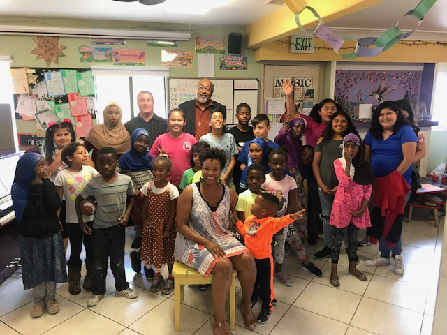 "San Diego Opera Education Performance - Malesha Taylor and Richard Thompson perform, ""I, Too, Sing America"" for students in City Heights."