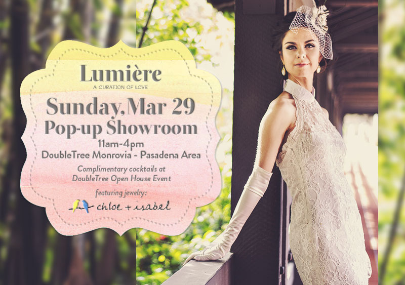 Lumiere Pop-up Showroom March 29