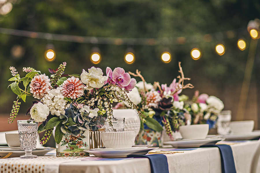 Styling Inspiration for Moon Festival Backyard Party