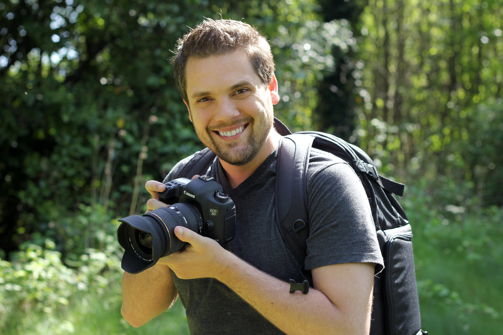 New Canon 5d Mark III, Lowepro Bag and Benro Tripod. All photos by Wren Bentley.