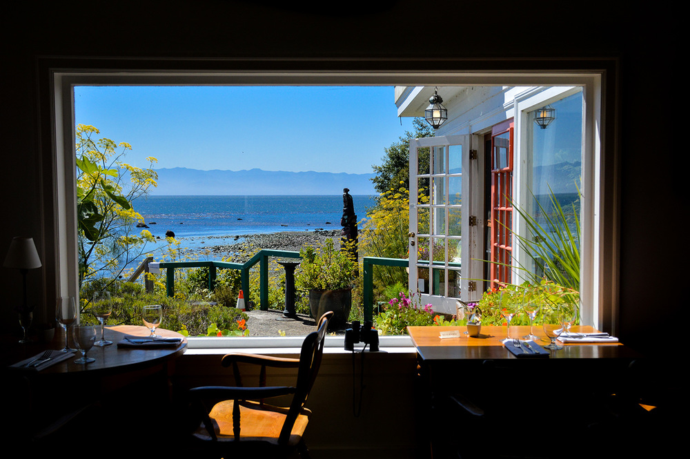 At Sooker Harbour House. Wouldn't you love to have breakfast to this every day??