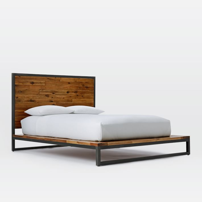 Logan bed by West Elm.