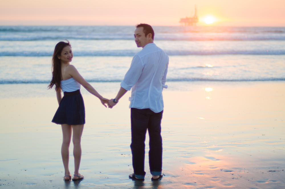 Greg & Katie Engagement // Huntington Beach, California