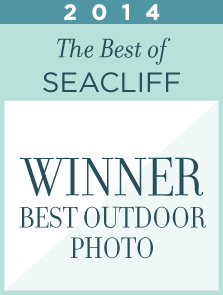 Seacliff Country Club, Huntington Beach, California Preferred Vendor Award and Recognition as BEST Outdoor Photo in 2014
