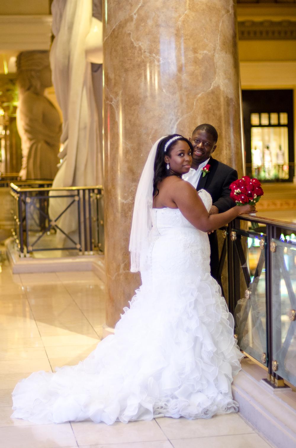 Las Vegas, Nevada Destination Wedding LeAnthony and Markheia