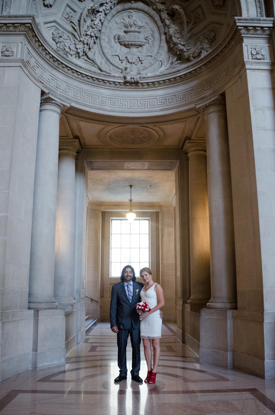 San Francisco City Hall Elopement San Francisco California Bruno and Natasha