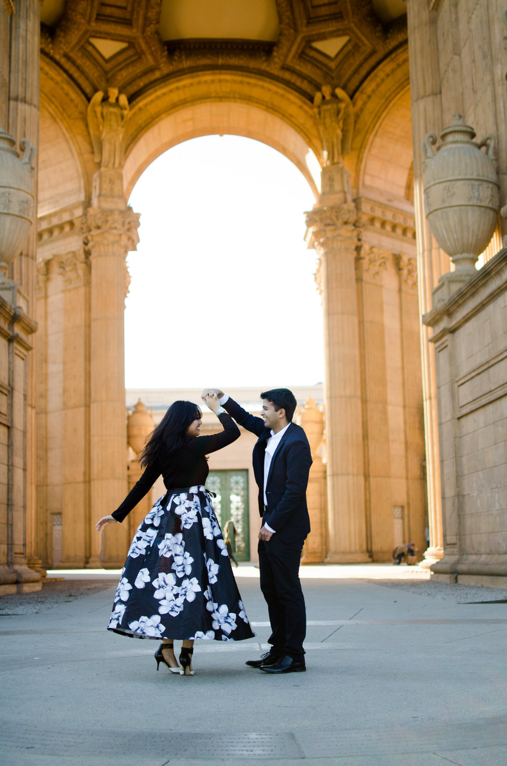 Abi & Shruthi Engagement   The Palace of Fine Arts // San Francisco, California