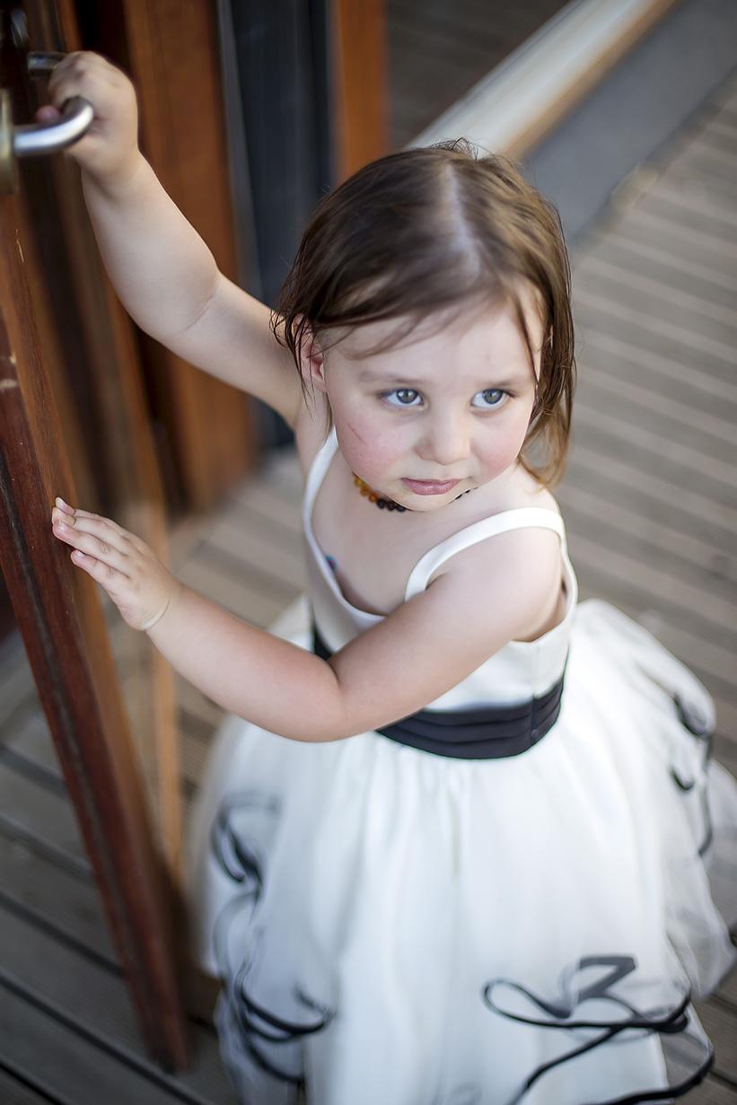 Monarto Zoo Flower Girl