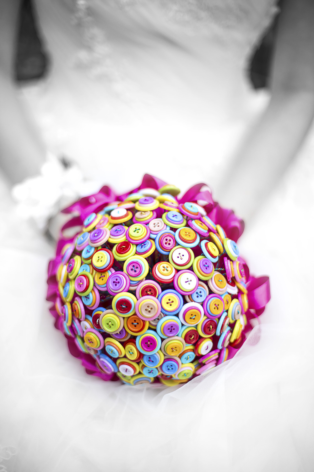 Wedding Photography Adelaide Japanese Himeji Gardens - button bouquet