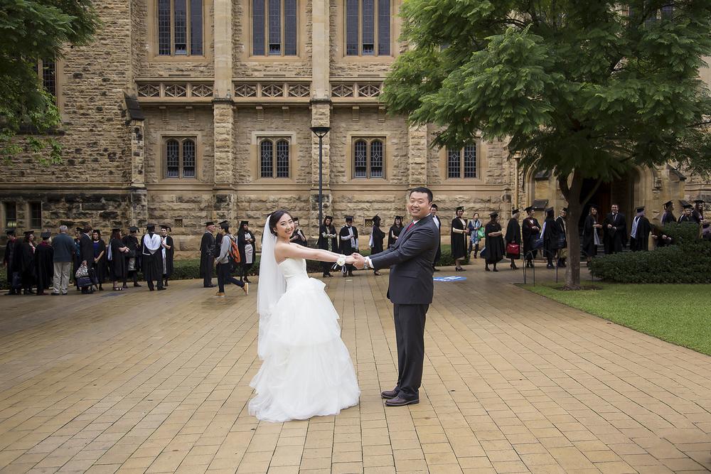 Adelaide University Wedding Portraits 1