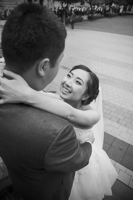 Adelaide University Wedding Portraits Black and white film style 3