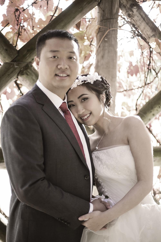 Wedding Photography Adelaide Japanese Gardens autumn leaves