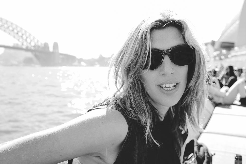 Black & White portrait Sydney Harbour Bridge